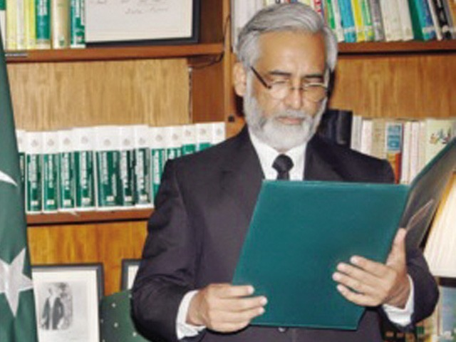 Justice Mushir Alam. PHOTO: FILE