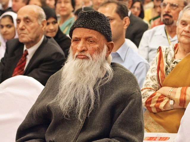 Abdul Sattar Edhi. PHOTO: AYESHA MIR & ATHAR KHAN/EXPRESS