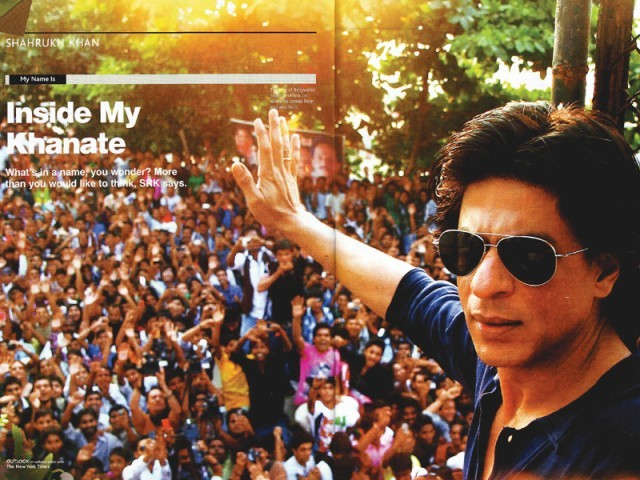 Shahrukh Khan gave his first person account in the Outlook Turning Points magazine. PHOTO: IANS