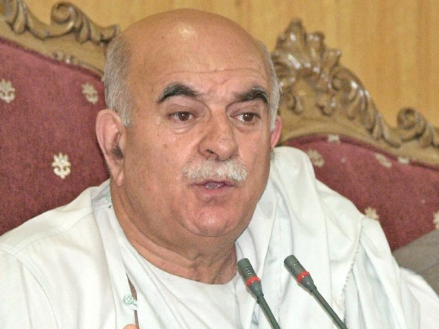 File photo of Mehmood Khan Achakzai. PHOTO: NNI/ FILE