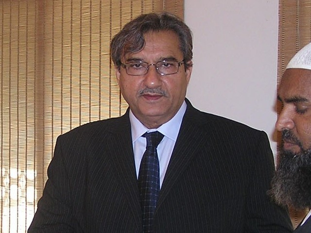 File photo of Sindh Minister for Education, Pir Mazharul Haq. PHOTO: NNI/FILE
