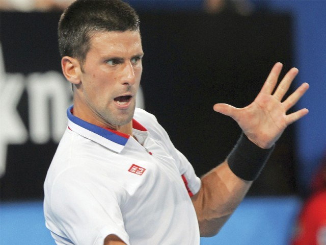 File photo of Novak Djokovic. PHOTO: REUTERS/FILE