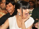 Veena was kissed by contestants of a reality show called 'The City that Never Sleeps – Bollywood Hunt'. PHOTO: IANS