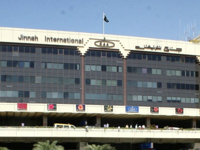 Jinnah International Airport in Karachi. PHOTO: PPI/ FILE