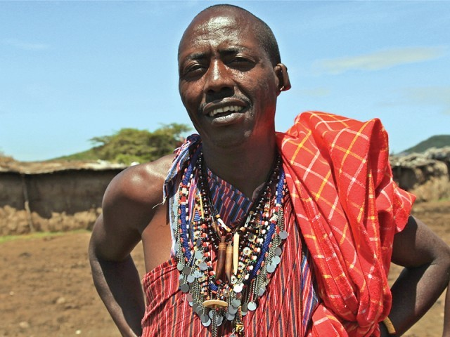 It is better to be poor and live long than to be rich and die young ~ Maasai proverb. PHOTO: FARAH KAMAL