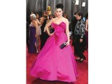 Fan Bingbing in fuchsia Marchesa