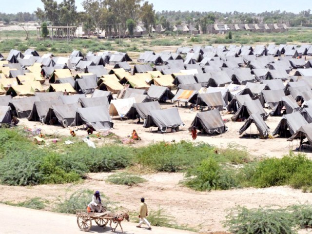 The Election Commission of Pakistan has demanded amendments to laws in order to facilitate the one million internally displaced persons  PHOTO: FILE