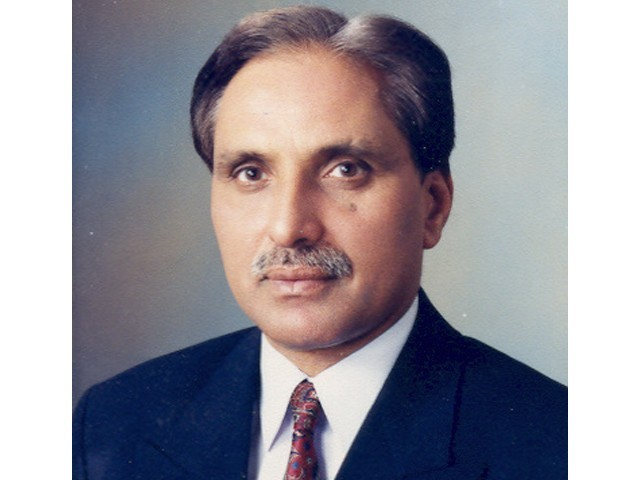 Former chief justice Peshawar High Court Tariq Parvez. PHOTO: ljcp.gov.pk