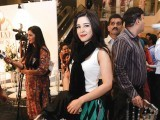 Actor Ayesha Omar at the Kamal Lawn by Zara Shahjahan Launch.