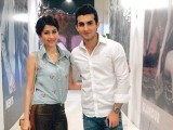 Actor Syra Yousuf with husband at Toni&Guy Hair Meet Wardrobe event.