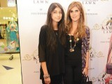 Ayesha Farook Hashwani with her daughter.