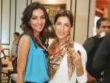 Maheen Karim with stylist Asma Mumtaz at Toni&Guy Hair Meet Wardrobe Event.
