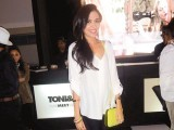 NFK stylist Maha Burney at Toni&Guy Hair Meet Wardrobe event.