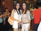 Stylist Meher Najeeb and Tehmina Ali of Meher's Salon.