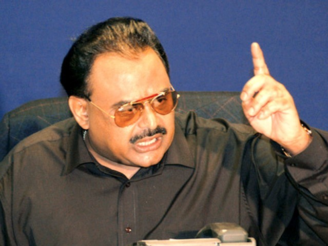 MQM chief Altaf Hussain promises land reforms.