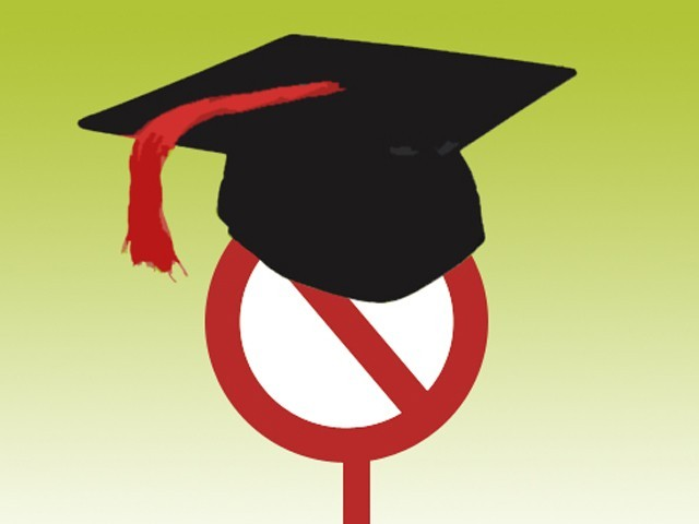 The verification of degrees started in 2010 after reports about several fake degree holders in the national and provincial assemblies surfaced.  PHOTO: FILE