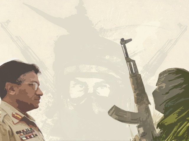 Musharraf angered the Taliban and other groups by joining the US war on terror following the September 11 attacks. DESIGN: EMA ANIS