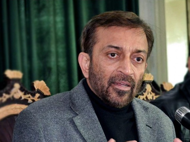 Farooq Sattar. PHOTO: APP