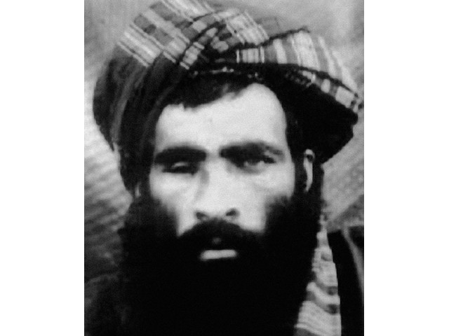 File photo of Mullah Omar. PHOTO: EXPRESS/FILE