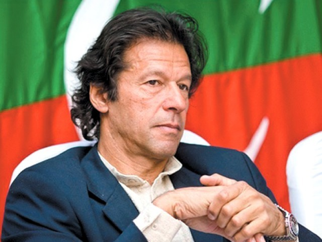 PTI Chairman Imran Khan. PHOTO: FILE