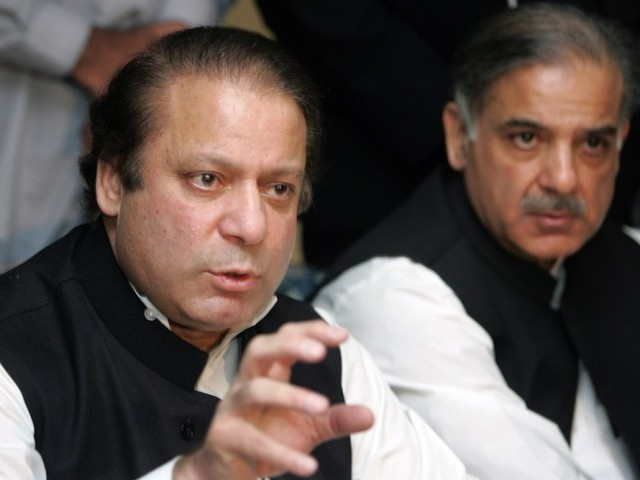 File photo of PML-N Chief Nawaz Sharif PHOTO: TMN/FILE