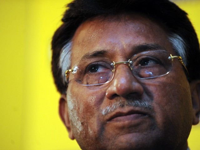 Musharraf also has to answer many other criminal charges, including that of the killing of Nawab Akbar Bugti. PHOTO: AFP
