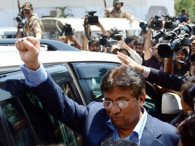Pervez Musharraf. PHOTO: AFP/ FILE
