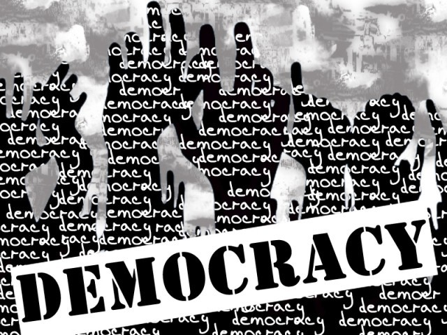 Without citizen participation at the highest level, the essence of democracy is prone to decay as it will be unable to withstand the damaging winds of corporatism, oligarchism, absolutism. DESIGN: SUNARA NIZAMI