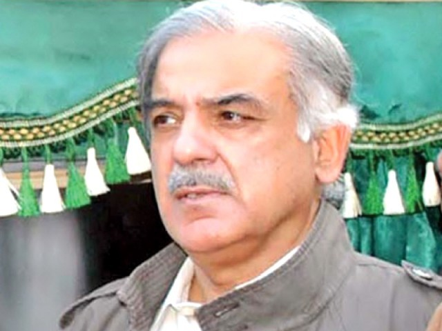 Shhbaz Sharif says news about expenses on his security are misleading as the actual expenditure is less than half of the amount being mentioned. PHOTO: FILE