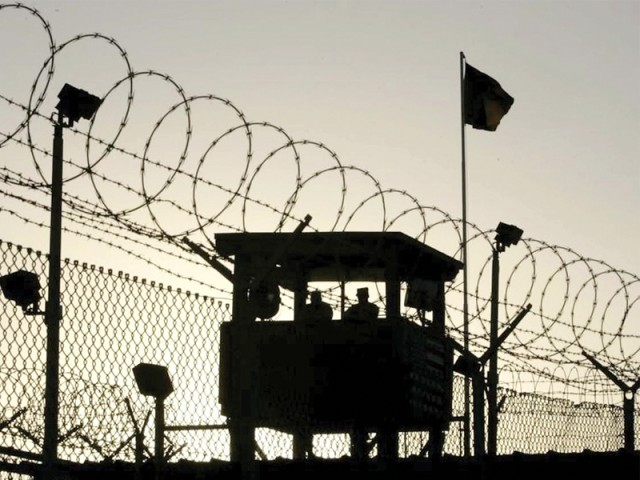 Dozens of prisoners go on hunger strikes at Guantanamo Bay prison. PHOTO: AFP/FILE