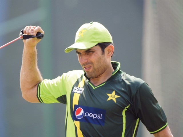 Misbah is confident the South Africa tour was good preparation for the team ahead of the Champions Trophy. PHOTO: AFP