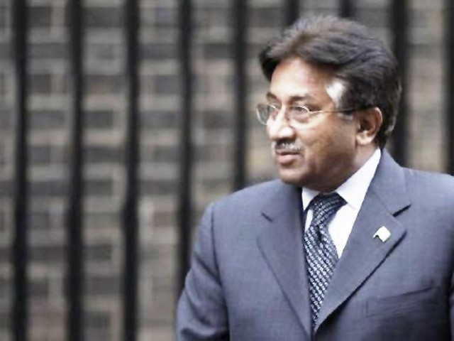 A file photo of former president Pervez Musharraf. PHOTO: REUTERS/FILE