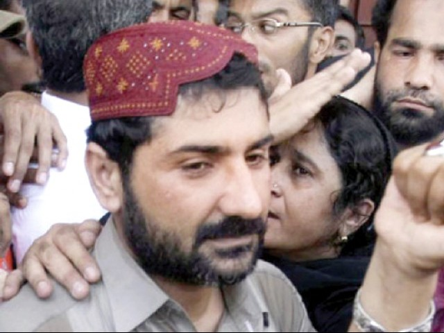 File photo of Uzair Baloch. PHOTO: FILE