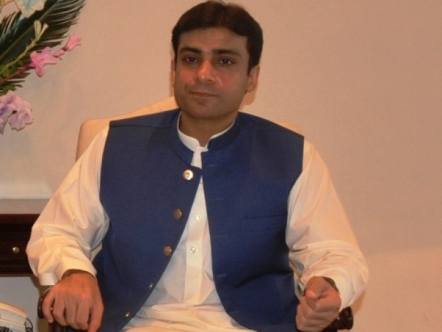 Hamza Shahbaz Sharif is one of the candidates who are accused of violationg ECP code of conduct.  PHOTO: QAZI USMAN/EXPRESS/FILE