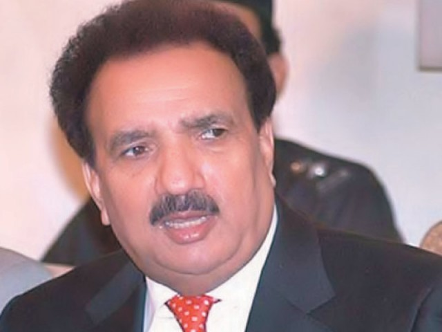 """Rehman Malik was responsible for Benazir Bhutto's internal security… she was assassinated following a lapse in internal security,"" sources quote Musharraf. PHOTO: FILE"