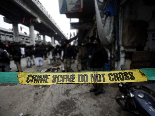 File photo of a blast crime scene. PHOTO: REUTERS/ FILE