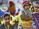 Vogue India did a feature with impoverished Indians carrying wearing $100 Fendi bibs. PHOTO: FILE