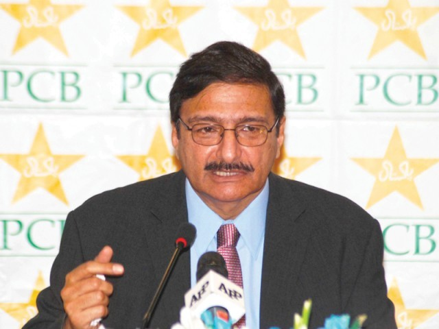 PCB chairman Ashraf has dismissed speculation and said that the his election to office for a four-year term was transparent. PHOTO: FILE EXPRESS
