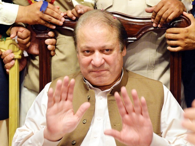 File photo of Nawaz Sharif. PHOTO: EXPRESS/FILE