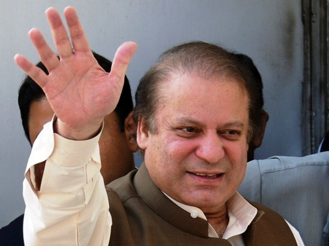 File photo of Nawaz Sharif. PHOTO: AFP/FILE