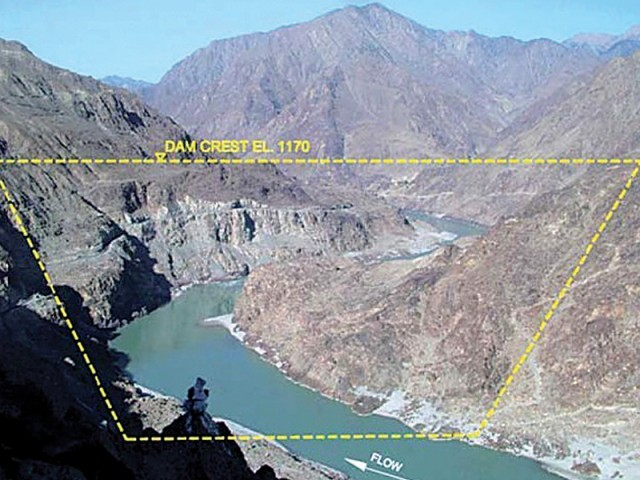 The Indian lobby in Washington has been actively campaigning against Diamer Bhasha Dam, asking the US and other lenders to link their assistance for the project with a no-objection certificate from New Delhi. PHOTO: FILE
