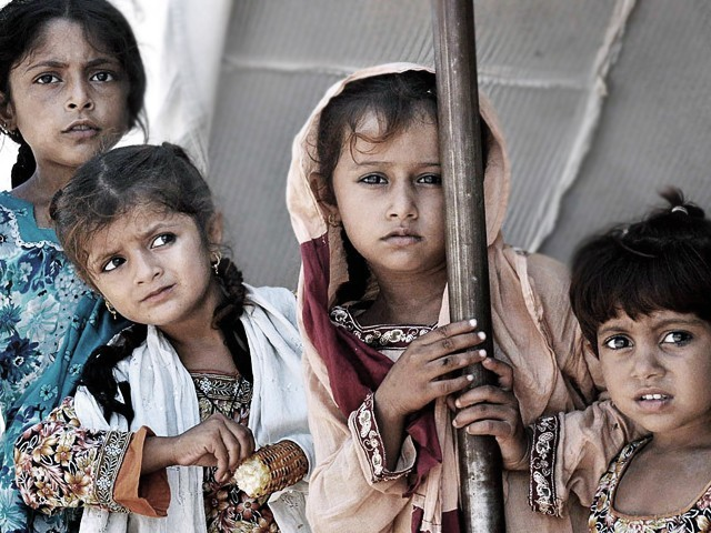 Seven million children have not even received any form of primary education. PHOTO: APP/ FILE