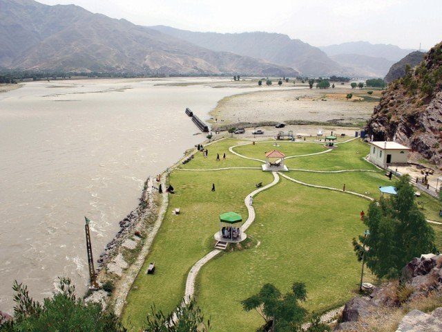 Tourist attraction: Families flock Swat to beat the heat