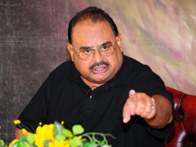 Altaf Hussain took the decision after a meeting of general party workers. PHOTO: MQM/FILE