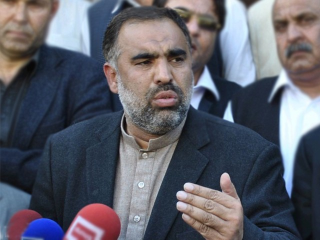 File photo of PTI leader Asad Qaiser. PHOTO: INP/FILE