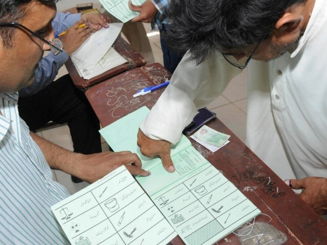 As many as 42,156 voters were registered to vote.  PHOTO: RASHID AJMERI/FILE