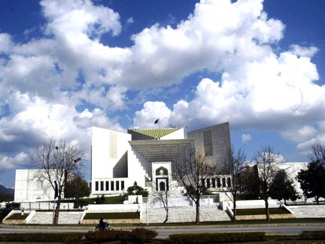 File photo of the Supreme Court building in Islamabad. PHOTO: EXPRESS/FILE