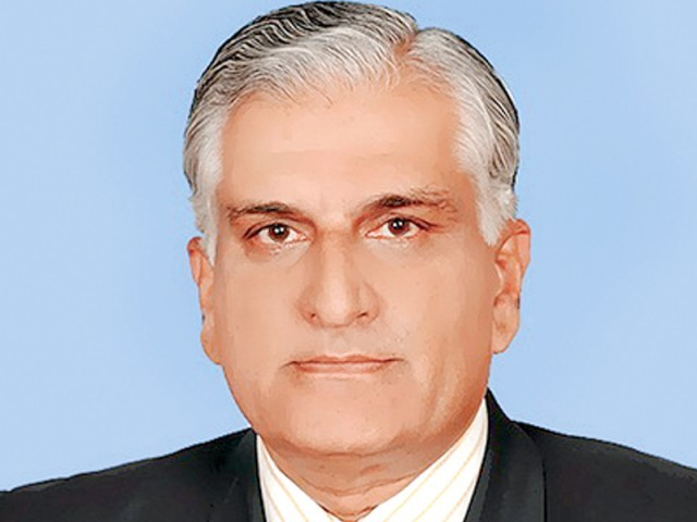 Former Law and Justice Minister Zahid Hamid has been reassigned to the science and technology ministry. PHOTO: FILE