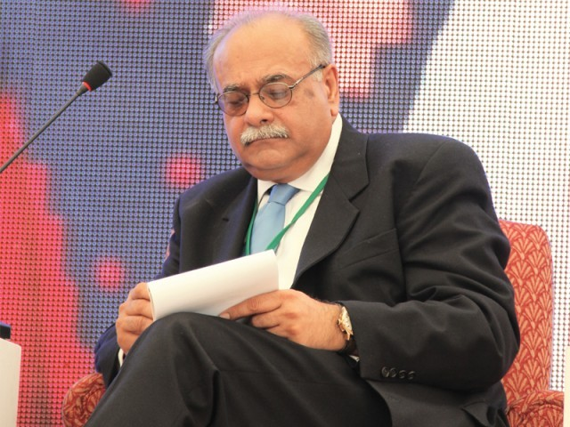 Najam Sethi's initial task include finalising the U19 team for the England tour before he moves onto the national team and other matters. PHOTO: EXPRESS
