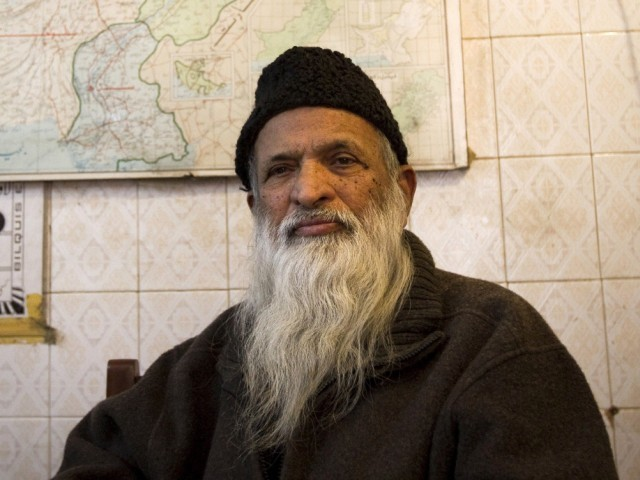 Abdul Sattar Edhi. PHOTO: AFP/FILE